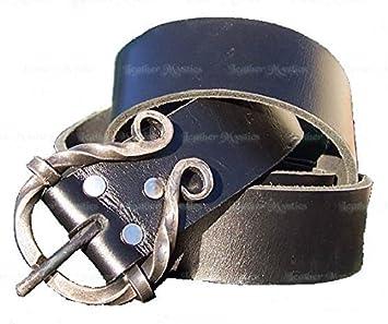 fer forgé Boucle Ceinture en cuir 121,9 cm - Made in USA  Amazon.fr ... 5e9eb71beb5