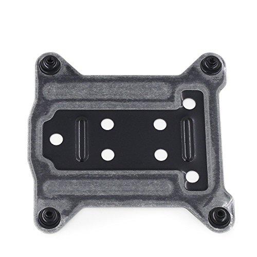 Backplate Motherboard (Metal Backplate Intel LGA 1150 1151 1155 1156 CPU Bracket Holder Radiators Base)