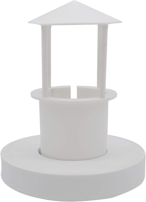 UTDKLPBXAQ Mini Mist Maker Floating Mist Dispenser Plastic with LED Light Floating s-p-rayer Fogger Water Fountain for Pool Pond Fish Tank