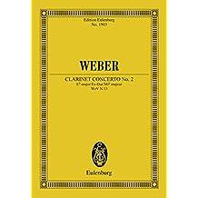 Clarinet Concerto No. 2 Eb major: Op. 74 (Eulenburg Studienpartituren Book 1903)