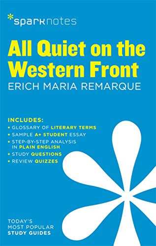All Quiet on the Western Front SparkNotes Literature Guide (SparkNotes Literature Guide Series)