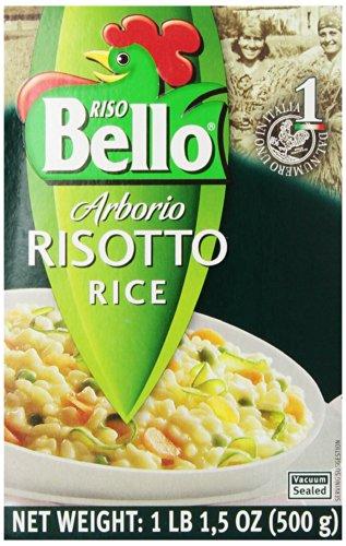 Riso Bello Arborio Risotto Rice, 17.5-Ounce Boxes (Pack of 6)