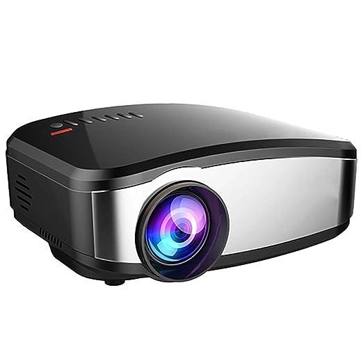 QLPP 1200 lúmenes 1080p LED Video proyector Full HD homeTheater ...