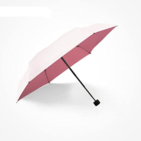 EBRICKON Mini Pocket Umbrella Clear Mens Umbrella Windproof Folding Compact Sunny and Rainy Umbrella Women Birthday