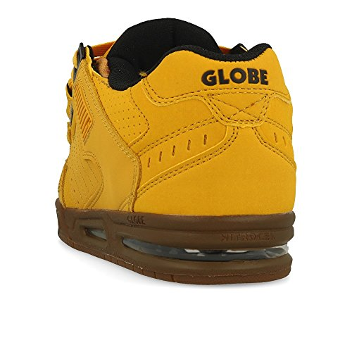 19984 Sabre Wheat Tobacco Skateboard Homme de Marron Chaussures Globe 4YwxRR