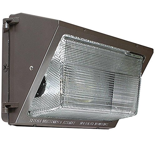 LED Wall Pack 54W Outdoor Industry Standard Forward Throw Replaces 150w MH Light (Bronze) (Bronze) Review