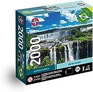 Quebra-cabeça Foz do Iguaçú, 2000 peças, Estrela - Exclusivo Amazon