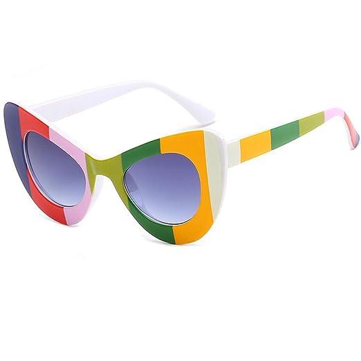 aa27b7d3f7b Amazon.com  Laura Fairy Cat Eye Frame Fashion Designer UV400 Lens Sunglasses-black  (black