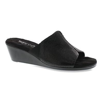 Walking Cradles Women's Nestle Black Patent Lizard 7.5 ...