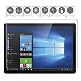 """KTTWO Huawei MateBook 12 inch Screen Protector Glass, 9H HD Anti-Scratch Bubble-Free Tempered Glass Screen Protector Huawei MateBook E 12"""" Screen M3/M5/M7/E5 2-in-1 Laptop Tablet"""