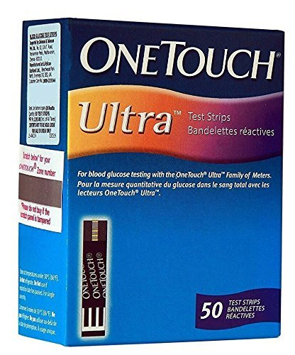 OneTouch Ultra Test Strips - 50 Counts by Shopping E-Kart