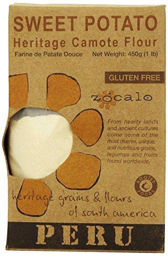 Z—calo Peru Sweet Potato Flour, 16 Ounce (Pack of 2)
