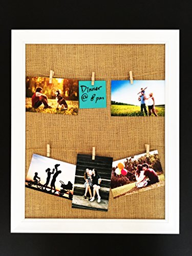 Bestbuy Frames 22.2-Inch-by-18.2-Inch Framed Memo Board with Fabric Covered Cork