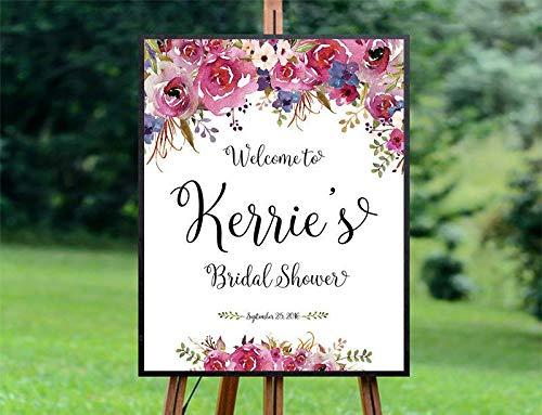 (Dozili Bridal Shower Sign Bridal Shower Welcome Sign Bridal Shower Decoration Printable Welcome Sign Bridal Shower Welcome)