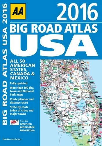 AA Big Road Atlas USA AA Publishing Amazon - Us road atlas map