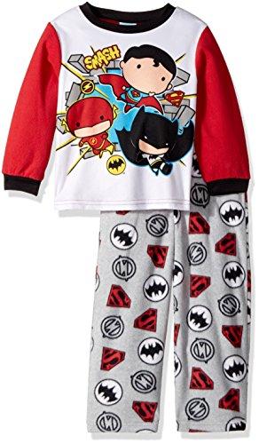 DC Comics Boys The Justice League 2-piece Fleece Pajama Set