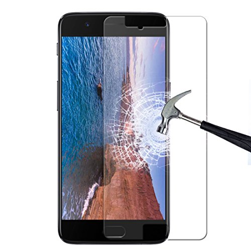 ONEPLUS 5 Temper Glass Screen Protector, Ultra Clear, Anti-Scratch, Anti-Bubble, 9H hardness, special oleophobicity coating