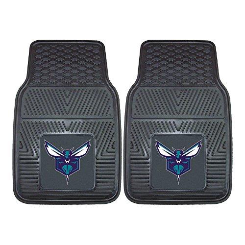 - Fanmats 9217 NBA-Charlotte Hornets Vinyl Universal Heavy Duty Fan Floor Mat