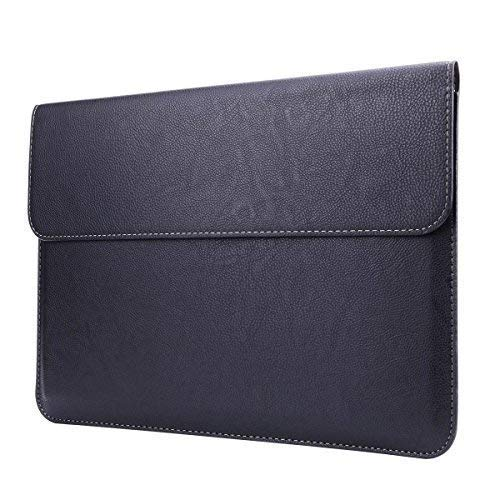 Surface Book Case Sleeve, Megoo Leather Sleeve Case Cover for Microsoft Surface Book 13.5 Inch -Black