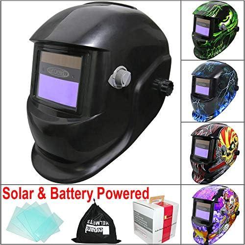 LCD Solar Auto Darkening Replacement Welding Helmet Lens Filter Arc Sensor U3E0