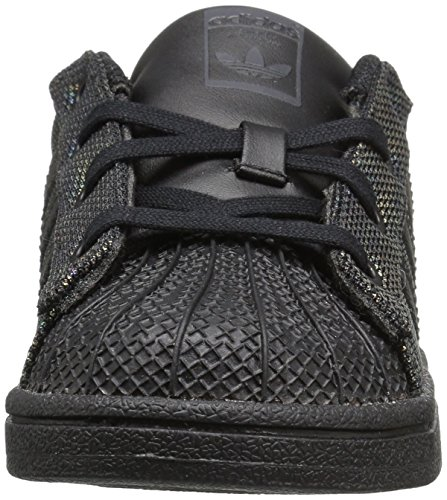 Black 9 Superstar Iridescent Infant I Sneaker Us Originals Boys' Adidas M 0Tqtgt