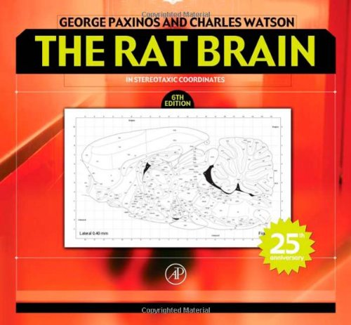 The Rat Brain In Stereotaxic Coordinates, Sixth Edition: Hard Cover Edition