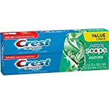 Crest Complete Whitening plus Scope, Minty Fresh Striped, 6.2 Ounce (Pack of 2)
