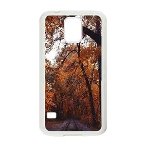 Armenia Yerevan Railway Park 2 Samsung Galaxy S5 Cases, [White]