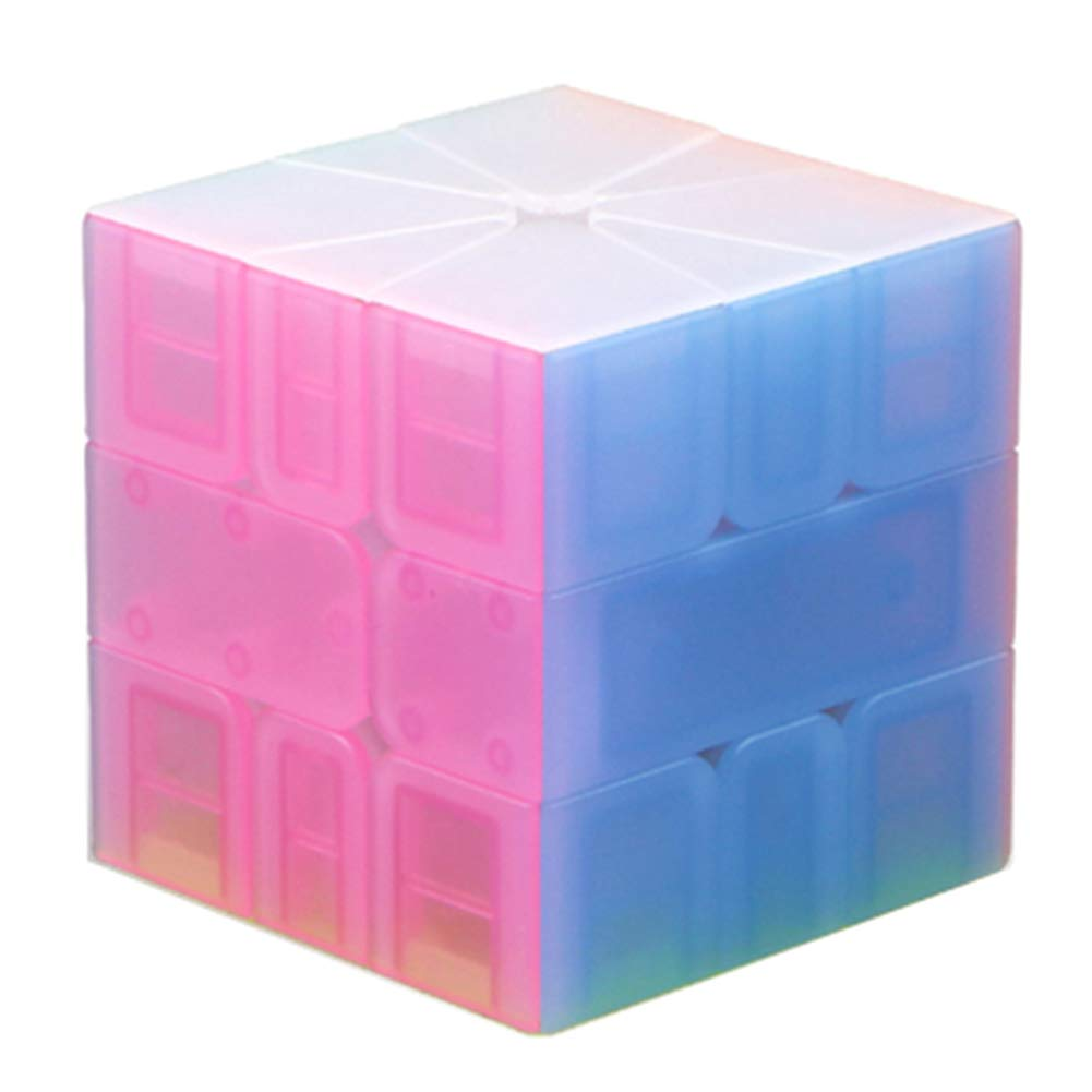 JIAAE Inspire SQ1 Rubik's Cube Children Puzzle Professional Competition Smooth Rubik Toy,Jelly by JIAAE (Image #1)