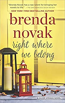 Right Where We Belong (Silver Springs) by [Novak, Brenda]