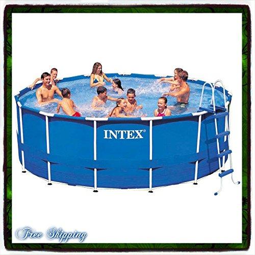 Pool Swimming Metal Frame Round 15' X 48