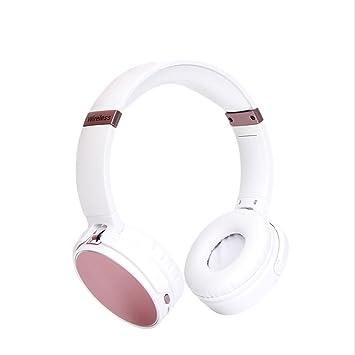 Feng-Bin Auriculares inalámbricos plegables, tarjeta de movimiento de música Bluetooth montada en la cabeza, auriculares inalámbricos generales N38.