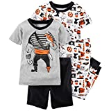Carter's Boys' 6M-12 4 Piece Pirate Pajama Set 3T