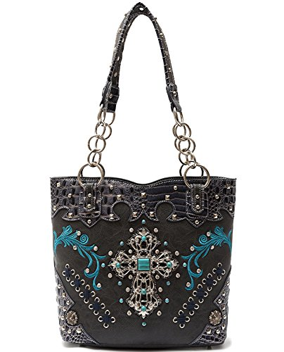 Set Cb s 1 Pu Literie Noir En 2 Bag Hanbag Portefeuille Cuir Sac Combo Handbag Fashion athena Élégant Blancho Gray Femmes vtpqwvg