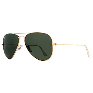 3cbd1f93dee9 Image Unavailable. Image not available for. Color  Ray-Ban 0RB3025 001 58  Aviator Large Metal Sunglasses