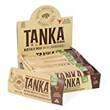 Cheap Meat Bar made with Buffalo and Cranberries by Tanka, Slow Smoked Original, Gluten Free Snack, 1 ounce bar, Pack of 12
