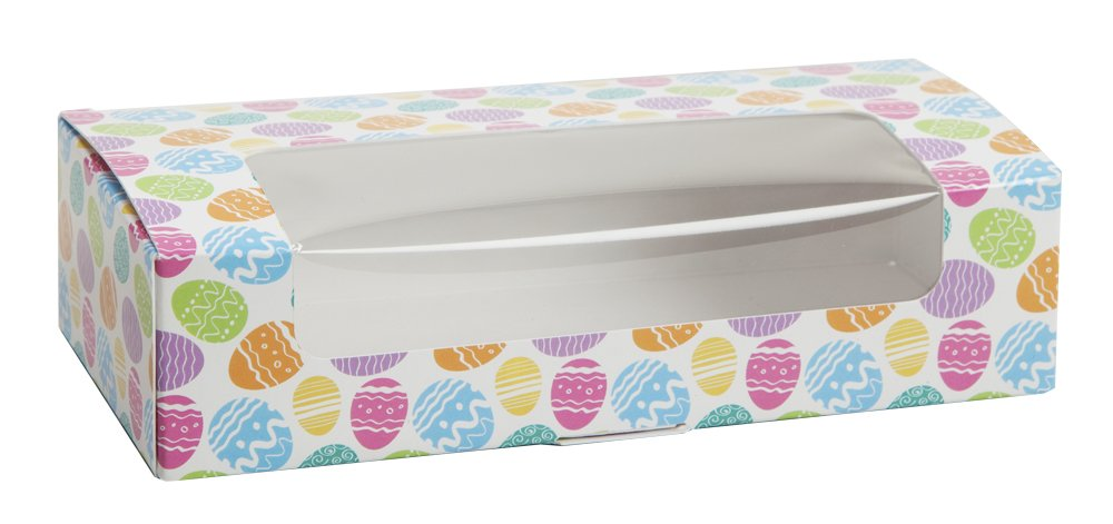Easter Egg Auto Bottom Box (250, 1 lb with window)