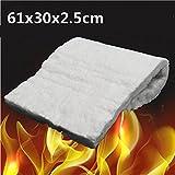 Hitommy 24x12x1 Inch Aluminum Silicate High Temperature Insulation Ceramic Fiber Blanket