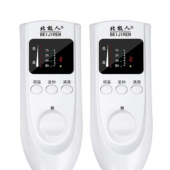 R&Y Mantas eléctricas,Manta eléctrica, sincronización Inteligente, Manta eléctrica de Doble Control Doble Inicio,B_ 1.8 * 1.6m: Amazon.es: Hogar