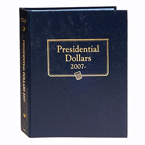 Us Presidents Dollar Coins - Whitman US Presidential Dollar Coin Album 2007-2016 Date Set #2183