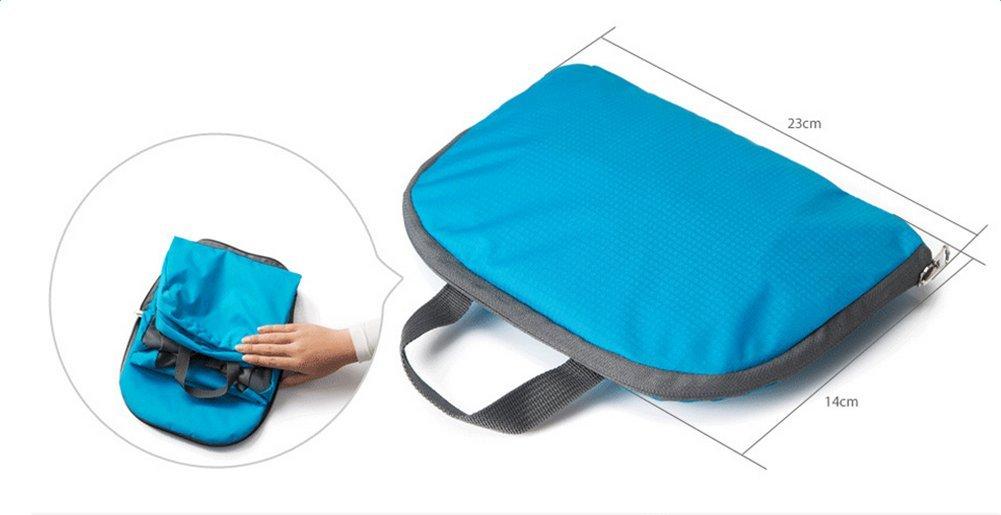 Gym Beach Swimming Hiking LAAT 1PC Waterproof Ultra-Light Backpack Foldable Rucksack Sport Sacks Travel Bag Casual Daypack Double Shoulder Handbag for Camping