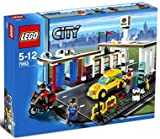 legos gas station - LEGO City Service Station Limited Edition (7993)