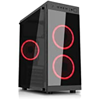 PC G-FIRE AMD Ryzen 3 2200G 8GB 1TB Radeon RX Vega 8 2GB integrada Computador Gamer HTG-222