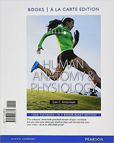 Amazon Human Anatomy Physiology Books A La Carte Edition