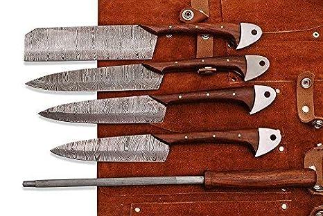 Amazon.com: Juego de cuchillos de cocina y barbacoa de ...
