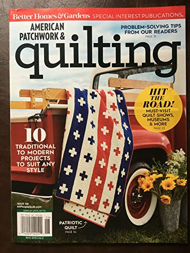 Better Homes and Gardens American Patchwork & Quilting June 2019