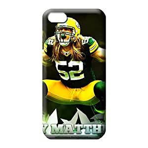 iphone 6plus 6p Protection High-end pattern phone carrying cover skin green bay packers