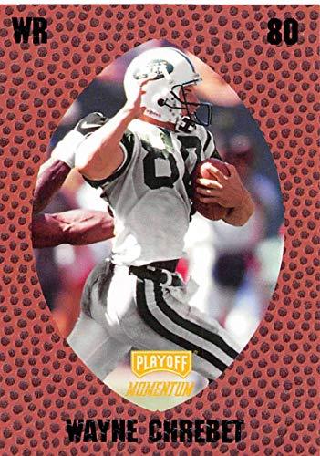 1998 Playoff Momentum Retail Football #39 Wayne Chrebet New York Jets Official NFL Trading Card