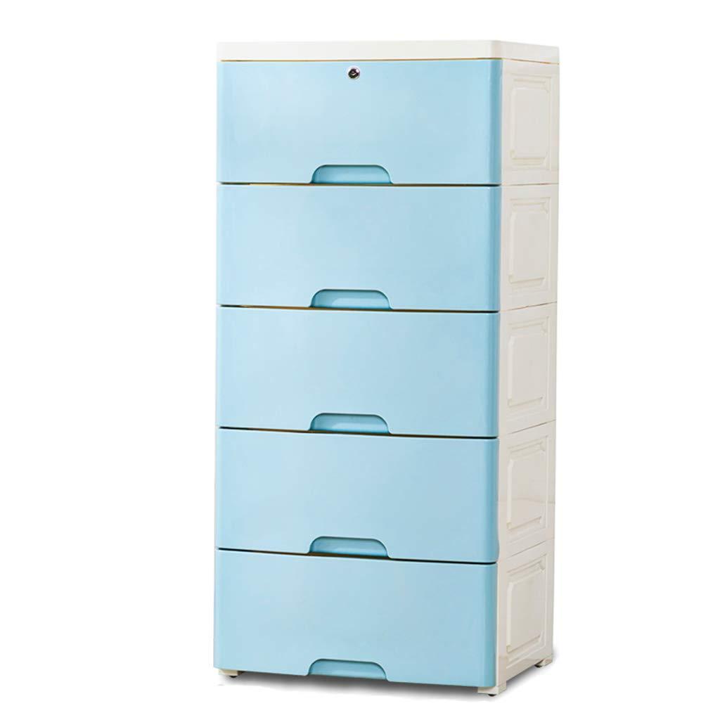 Épaississez la boîte, type de tiroir grande garde-robe de chambre des enfants en plastique de casier de jouet de bébé en plastique, 38 * 32 * 84CM (Couleur : B)