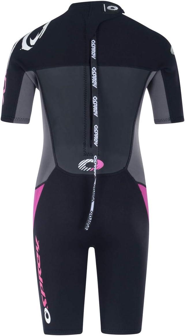 Adult Short Sleeve Neoprene Surfing Diving Wetsuit Origin Multiple Colours Osprey Womens Shorty 3 mm Summer Wetsuit